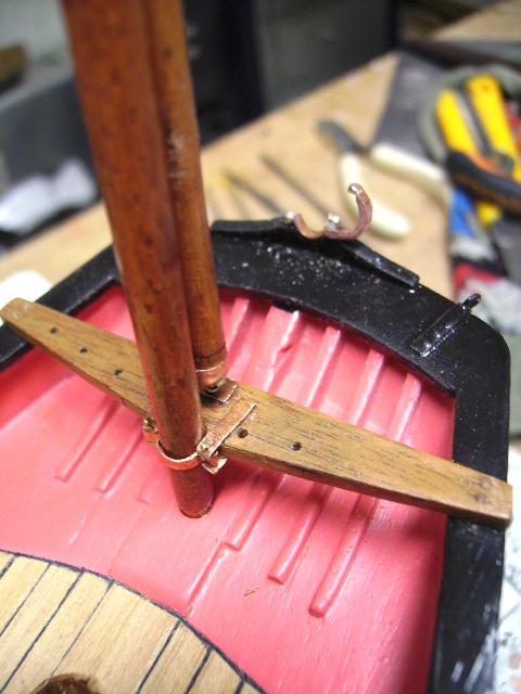 BISQUINE au 1/40 Kit Billing Boats modifié Xavero Bild0076