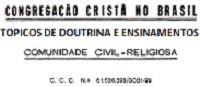 CONGREGAÇÃO SEM CENSURA Ccb_to10