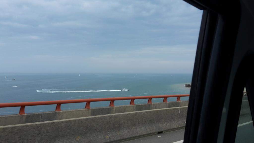 Essai d'une vedette sur la plage de Sablanceaux 20200910