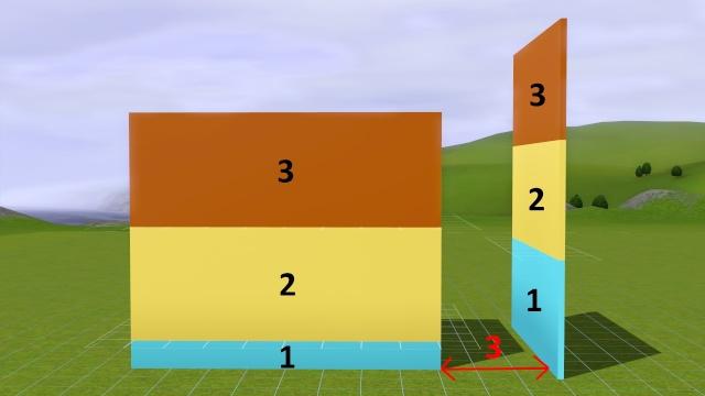 """[Apprenti] Technique de base pour modifier la hauteur des murs grâce au code """"constrainfloorelevation false"""" 1710"""