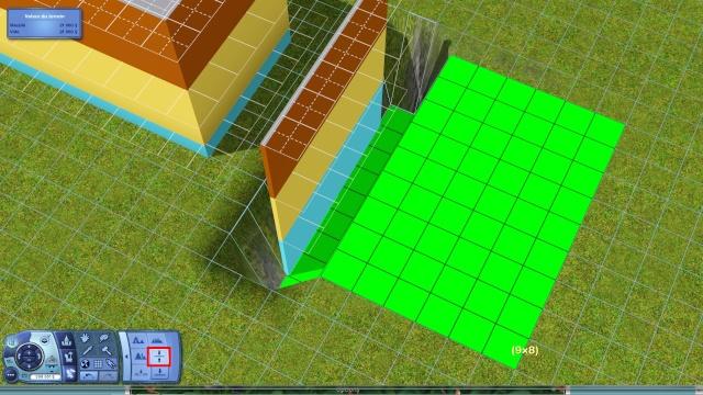 """[Apprenti] Technique de base pour modifier la hauteur des murs grâce au code """"constrainfloorelevation false"""" 2510"""
