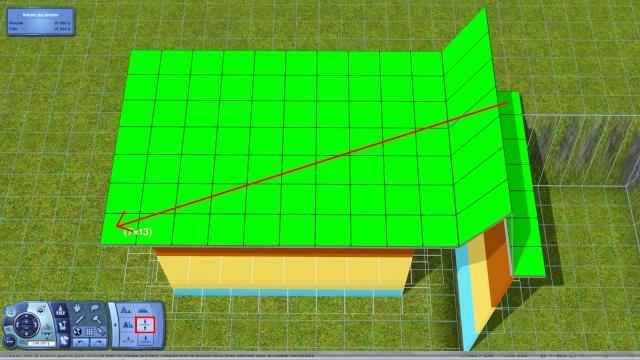 """[Apprenti] Technique de base pour modifier la hauteur des murs grâce au code """"constrainfloorelevation false"""" 2710"""