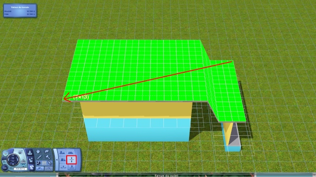 """[Apprenti] Technique de base pour modifier la hauteur des murs grâce au code """"constrainfloorelevation false"""" 610"""