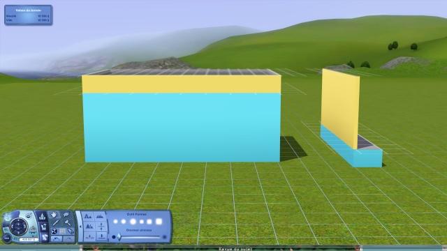"""[Apprenti] Technique de base pour modifier la hauteur des murs grâce au code """"constrainfloorelevation false"""" 710"""