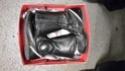 A vendre Top Case Givi, bottes, Inforad 20150922
