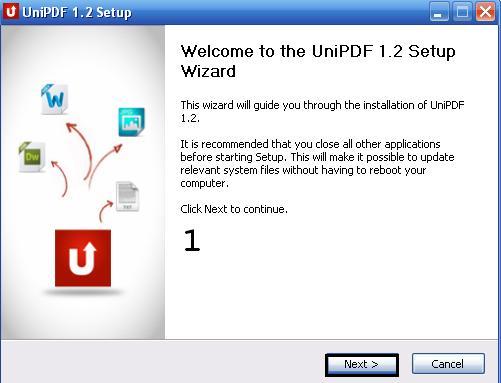 تحميل برنامج unipdf لتحويل ملفات pdf الى Word و txt عربي 2015 310