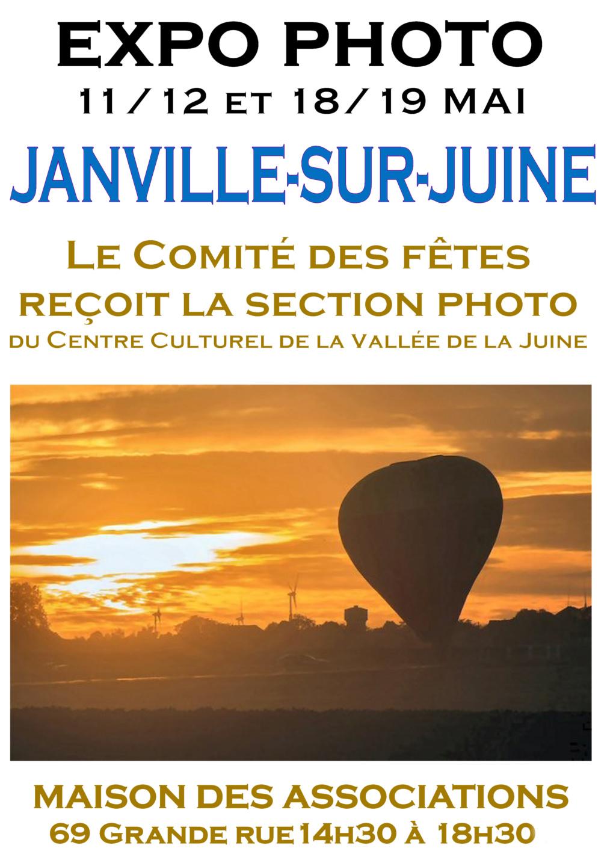 Nous exposons à Janville ! Affich11