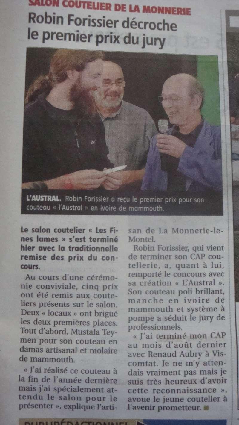 salon du couteau la Monnerie - Page 3 Dsc07917
