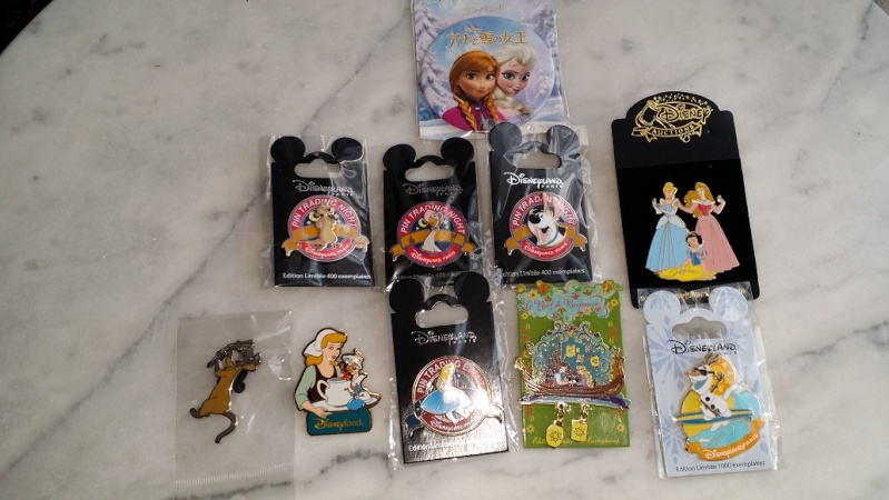 Le Pin Trading à Disneyland Paris - Page 5 20151232