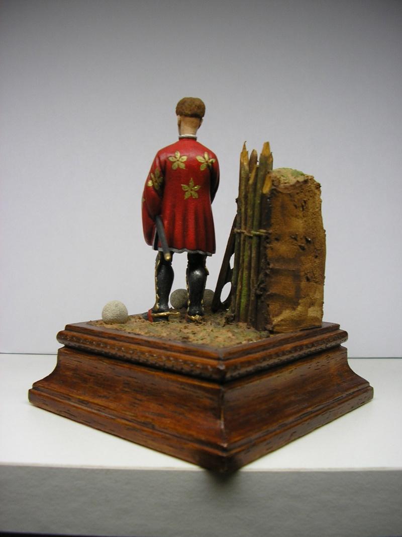 Figurines moyen âge 54m/m  11310