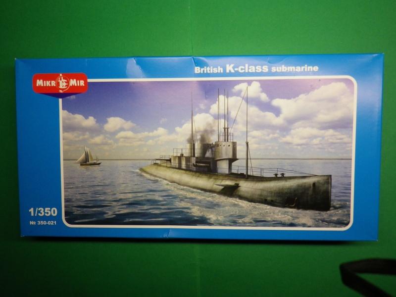 Mikromir 1/350 sous-marin Anglais classe K par chatgrincheux Imgp3710