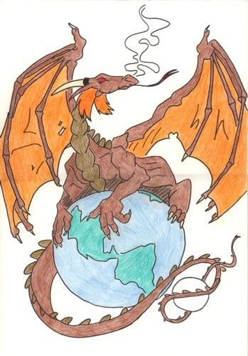 [Galerie] Vos dessins/œuvres - Page 2 Dragon10