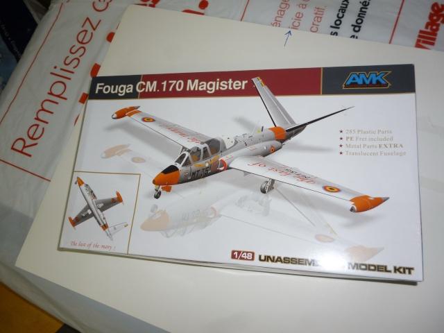 Fouga Magister CM 170 1/48 AvantGardeModelKits Magist11