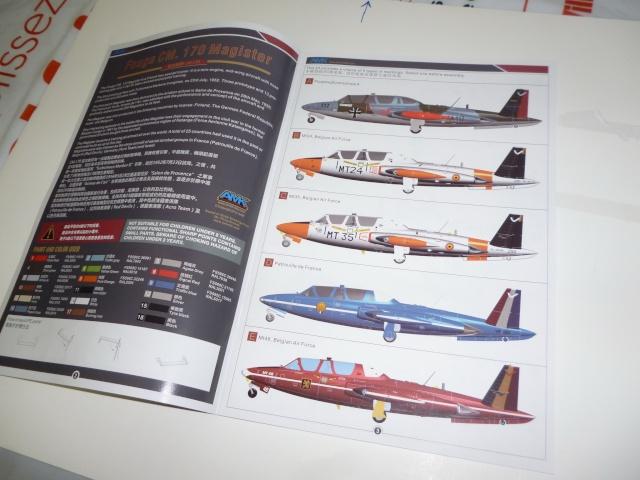 Fouga Magister CM 170 1/48 AvantGardeModelKits Magist12