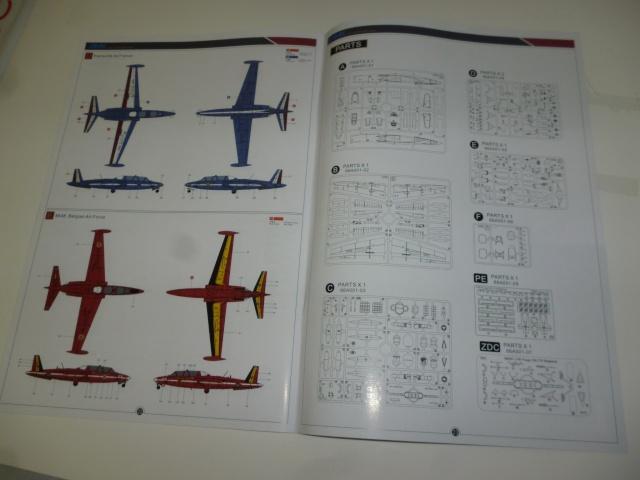 Fouga Magister CM 170 1/48 AvantGardeModelKits Magist16
