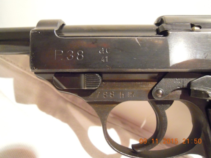 un P38 tout beau tout neuf P38-411