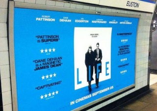 'LIFE' POSTER SPOTTED IN LONDON UNDERGROUND 31910