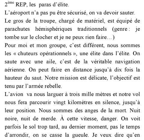 """Extrait de l'ouvrage """"Dix mille et une nuit de silence"""" de Christian Vanlierde Chuteu10"""
