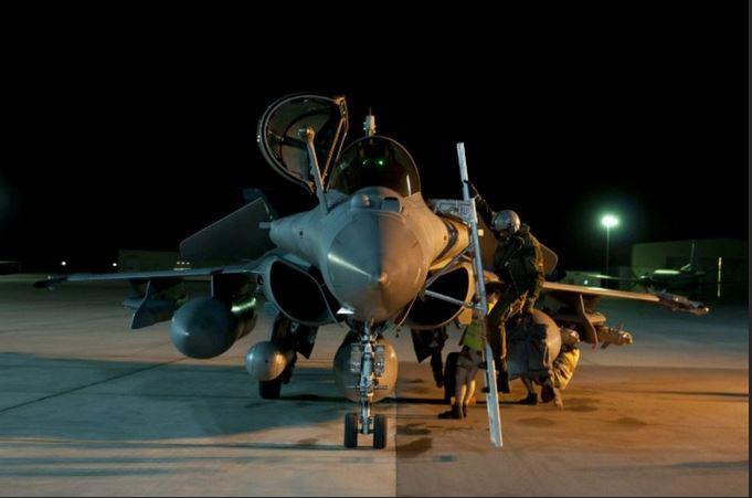 Syrie : l'armée de l'air identifie ses cibles  Syrie10