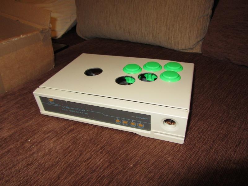 Stick arcade + raspberry Img_0010