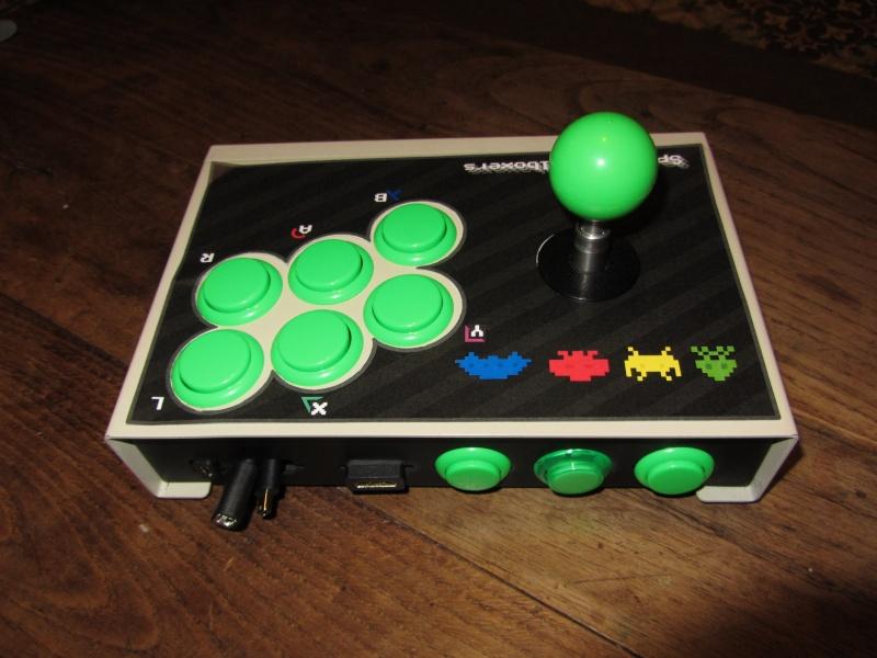 Stick arcade + raspberry Img_0017