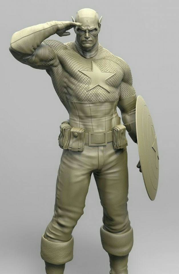 Premium Collectibles : Captain America - Sentinel of liberty 12115510