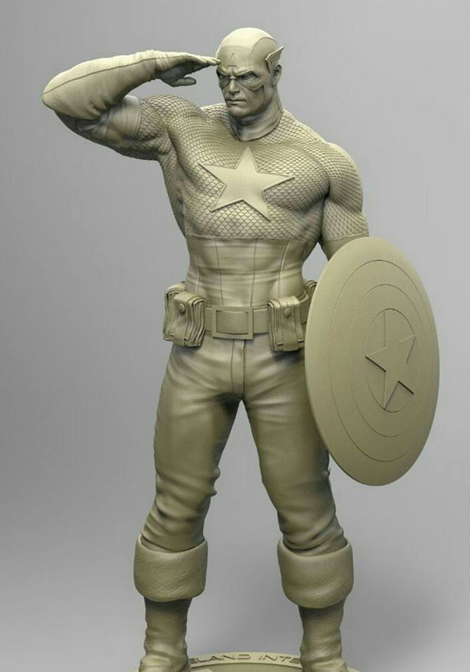 Premium Collectibles : Captain America - Sentinel of liberty 12115511