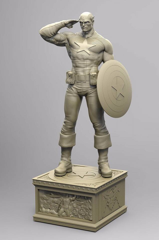 Premium Collectibles : Captain America - Sentinel of liberty 12144711