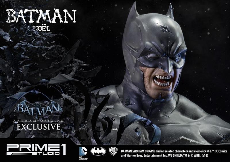 Batman Arkham Origins - Batman Noel Costume 1/3 Statue 12193310