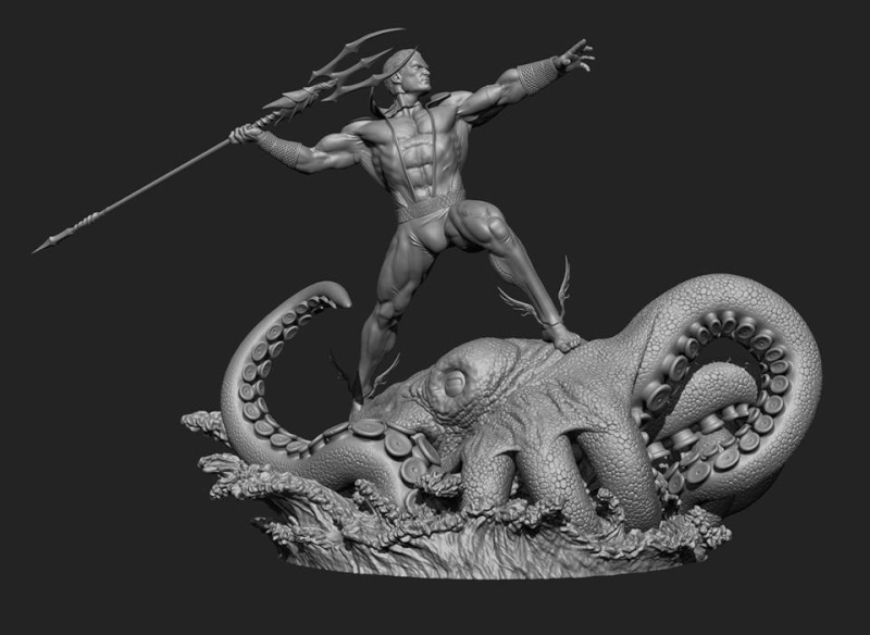 Premium Collectibles : Namor the First, Prince of Atlantis - Page 2 12193410