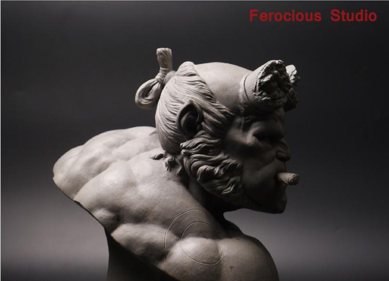 FEROCIOUS STUDIO : HELLBOY - BUST 1/1 18164610