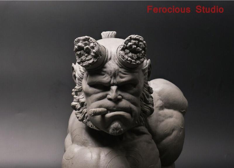 FEROCIOUS STUDIO : HELLBOY - BUST 1/1 18164810