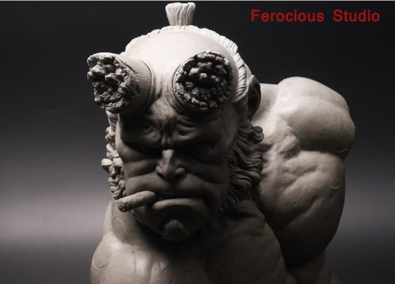 FEROCIOUS STUDIO : HELLBOY - BUST 1/1 18165010