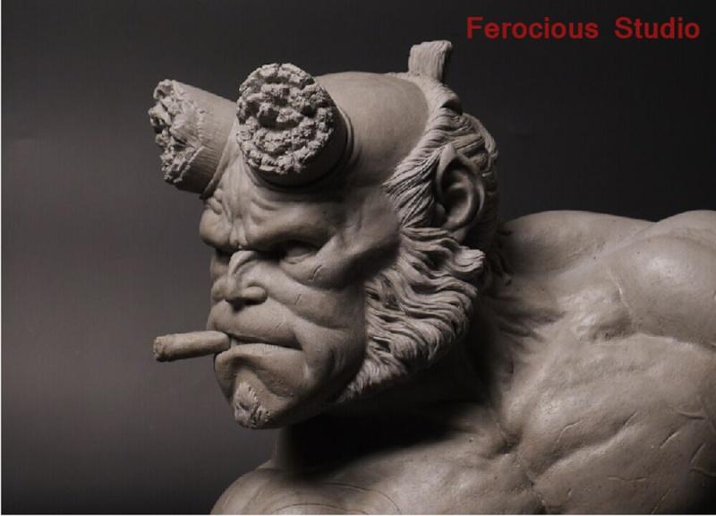 FEROCIOUS STUDIO : HELLBOY - BUST 1/1 18165310