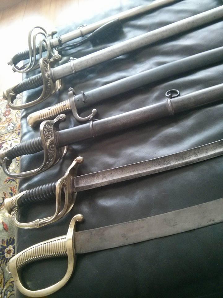 Sabre de Cavalerie légère modèle 1822, fourreau modifié 1882 Sabres10