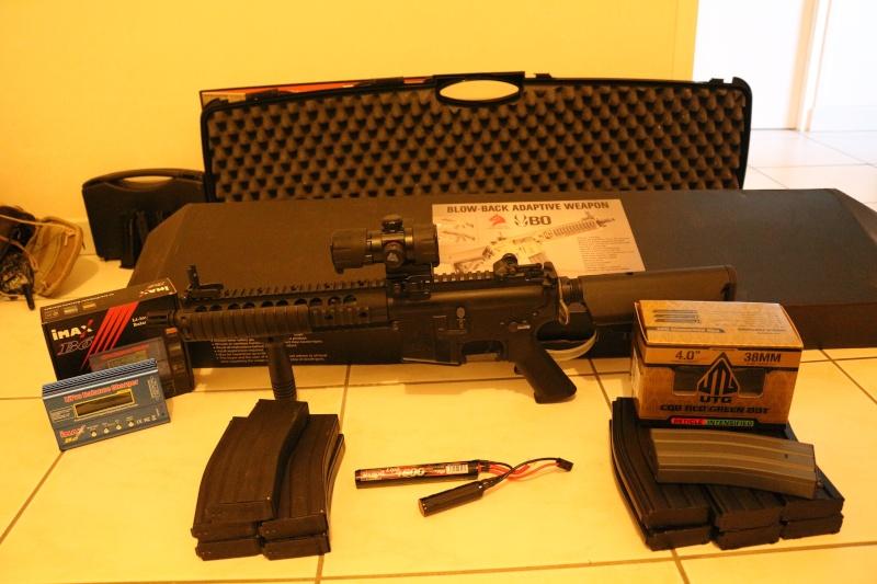Vend ou échange M4 BAW BO Manufacture 15090510
