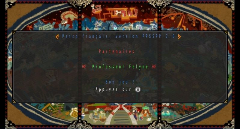 [ MH3rdHD ] Patch FR - Emulateur PPSSPP v2.0 Patch12