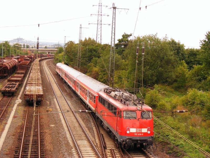 Die E-Lok Baureihe 110 / E10 der DB 110_4010