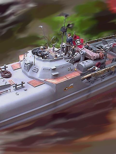 Schnellboot S-100 - 1/35 by Italeri, Eduard, Mastercaster, AFV-Club, CMK, ... S712_110