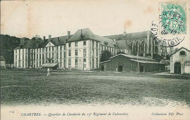 Le quartier Rapp / Quartier de Cavalerie (13° Cuirassier) 29588010