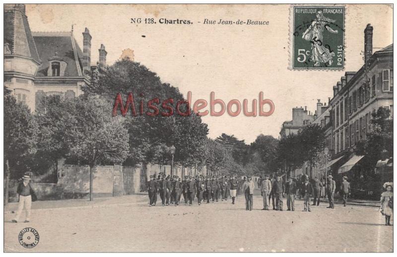 Militaires dans les rues de Chartres 737_0010
