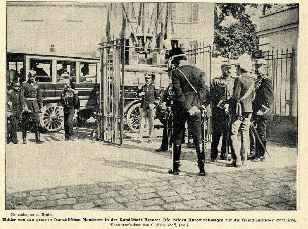 Les Grandes Manoeuvres de 1900 à CHARTRES Arrive10