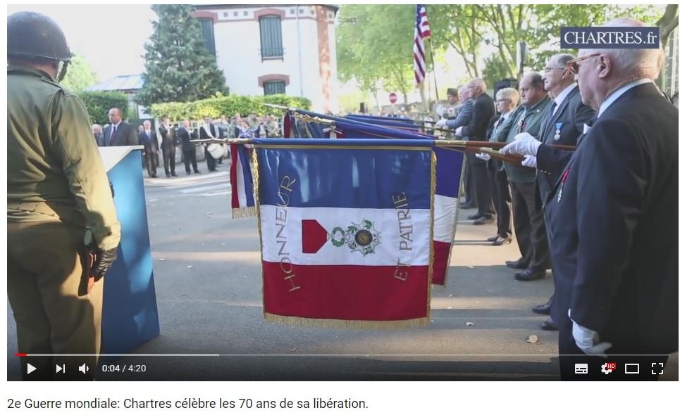 les 70 ans de la libération de Chartres (2014) Chartr13