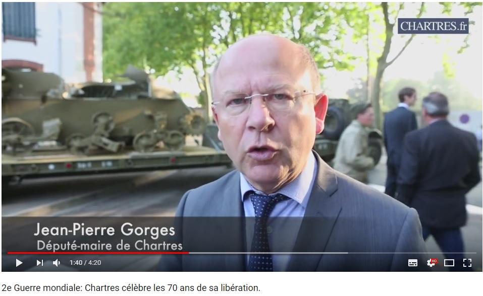 les 70 ans de la libération de Chartres (2014) Chartr14