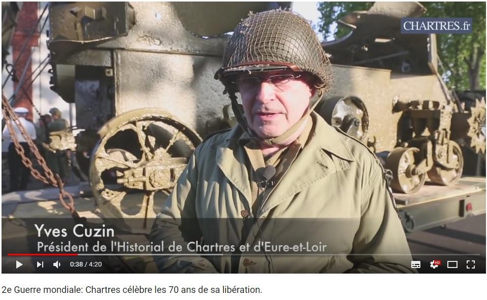 les 70 ans de la libération de Chartres (2014) Chartr15