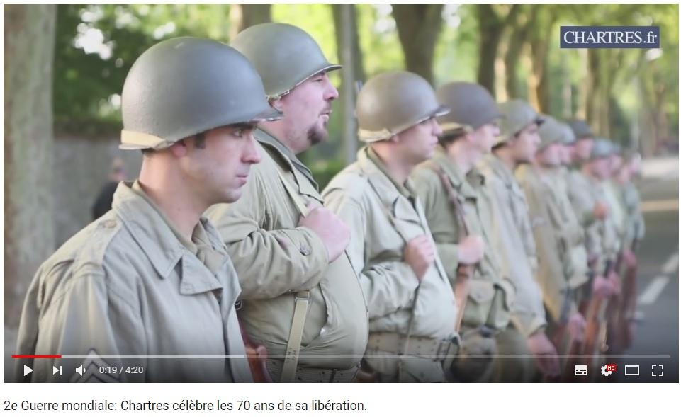 les 70 ans de la libération de Chartres (2014) Chartr16