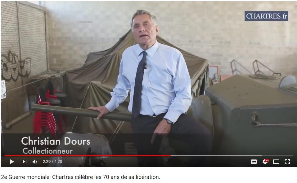 les 70 ans de la libération de Chartres (2014) Chartr17