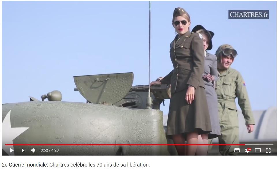 les 70 ans de la libération de Chartres (2014) Chartr19