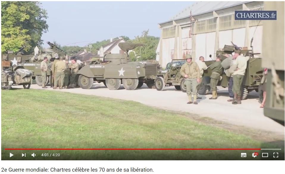 les 70 ans de la libération de Chartres (2014) Chartr20