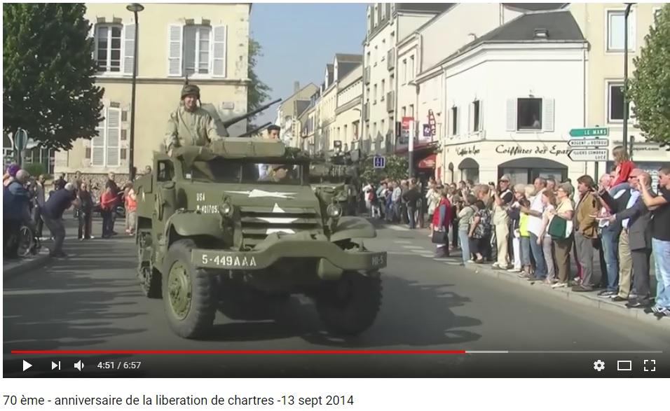 les 70 ans de la libération de Chartres (2014) Chartr22